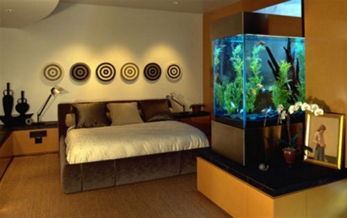 Un acuario en casa ideas para decorar decoracion in - Ideas para decorar casas pequenas ...