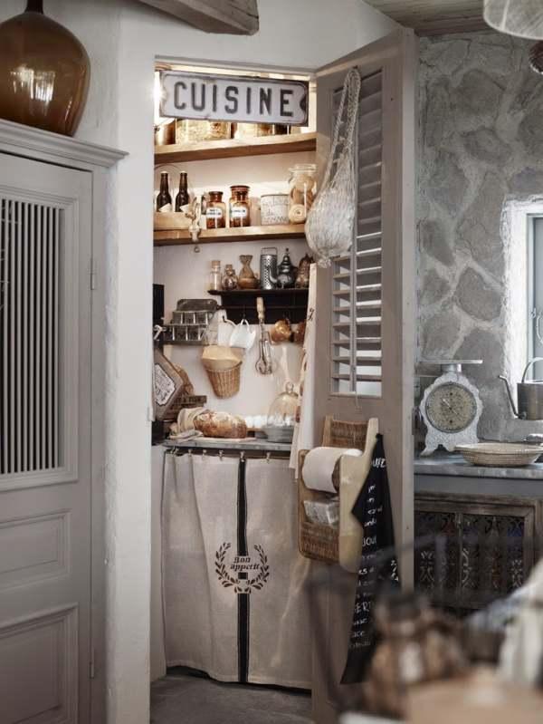 Aire shabby chic en la cocina decoracion in for La casa sueca decoracion