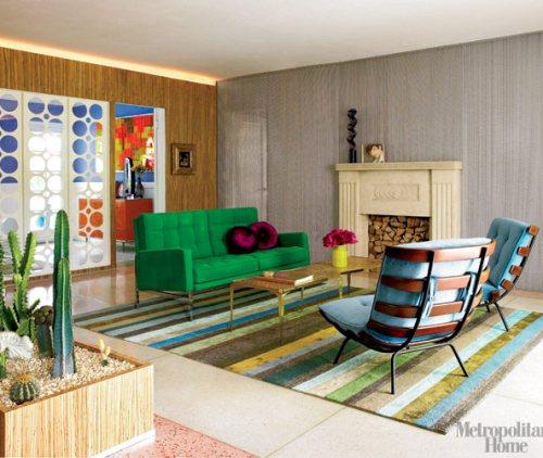 Decorar con alfombras y moquetas con color decoracion in - Decorar con alfombras ...