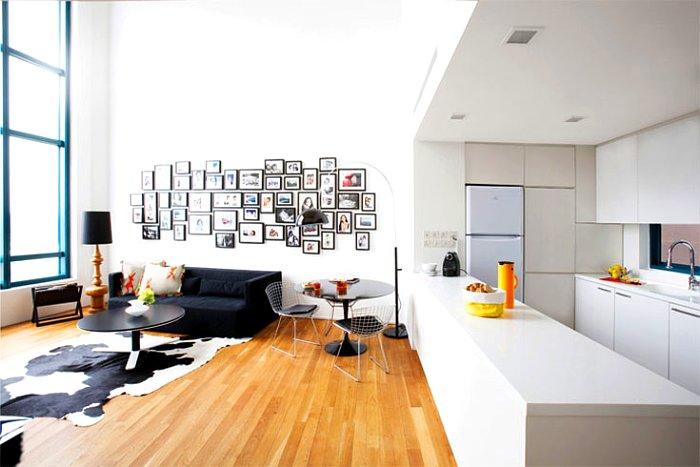 ambientes diáfanos en casas actuales