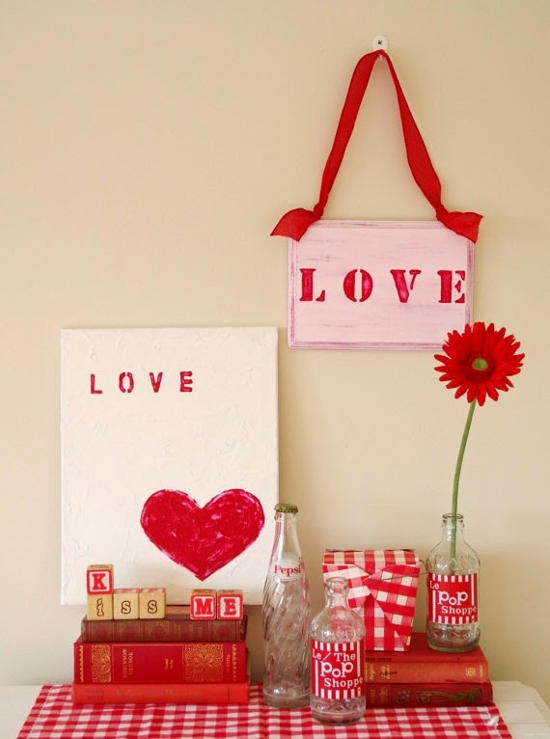 6 exquisitas manualidades para san valentin decoracion in for Ideas para decorar habitacion sorpresa