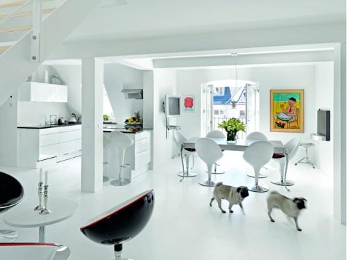 apartamento en  blanco puro