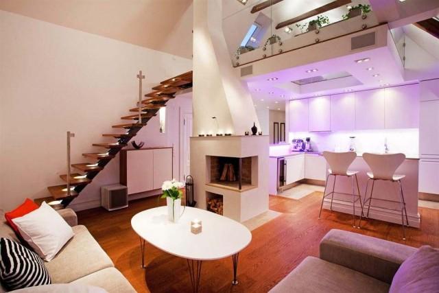 apartamento con soluciones decorativas
