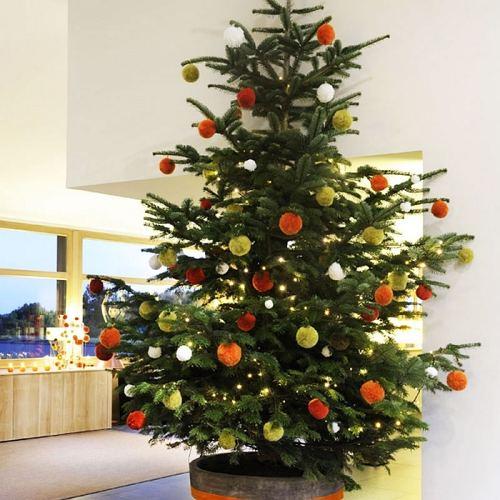 árbol de navidad colorido