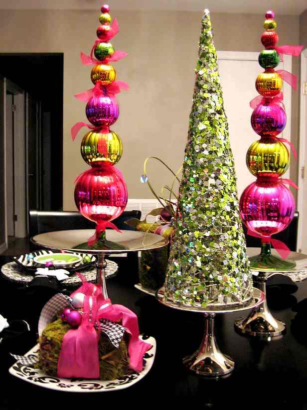 Ideas para crear un rbol de navidad original y personalizado decoracion in - Decoracion de navidad original ...