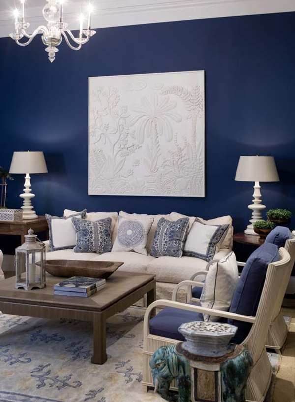 living room ideas in blue azul para la decoraci 243 n de salones decoracion in 23601