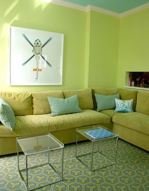 Fotos  Pintar Living Paredes Del Living Sala En Color Naranja