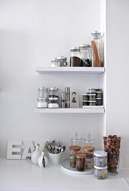 baldas y estantes decorativas