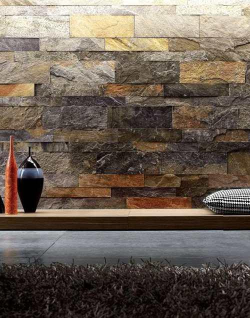 baldosas de pizarra para paredes y suelos decoracion in. Black Bedroom Furniture Sets. Home Design Ideas