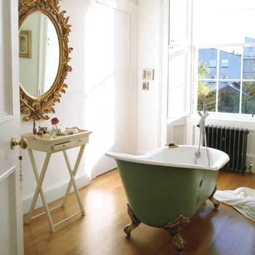 bañera de estilo: verde