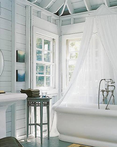 bañera romántica