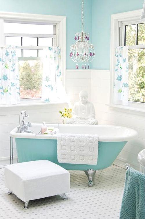 bañeras exentas color: turquesa