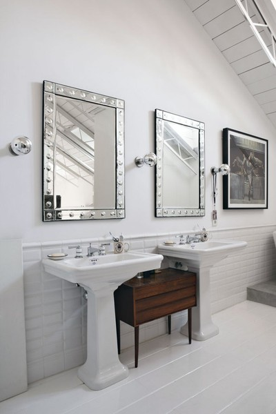 baño en casas contemporáneas