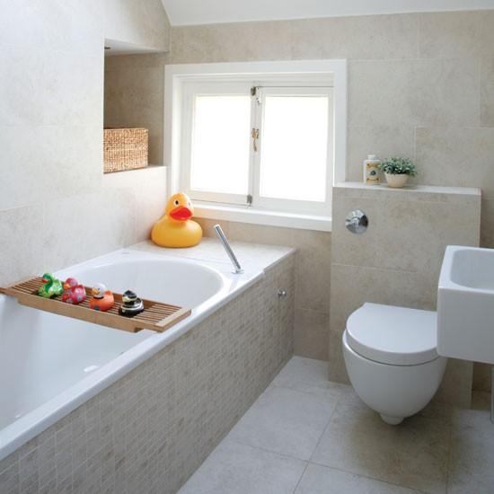 Decoracion Baño Ninos:Colores Claros, Calma y Relax en el Cuarto de Baño