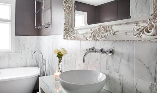 baños actuales románticos