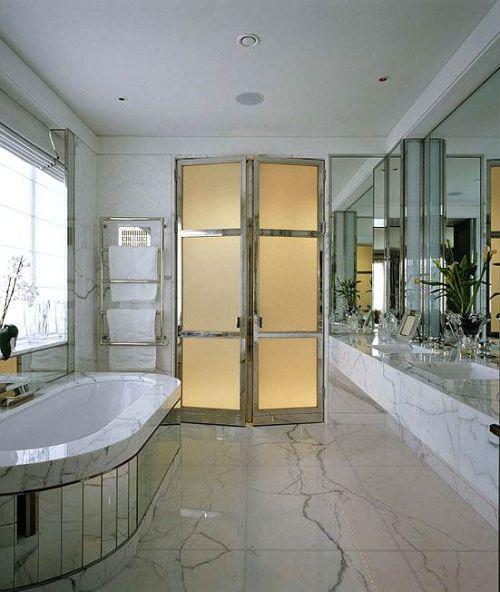 Ejemplos de ba os modernos y elegantes decoracion in for Banos elegantes y modernos