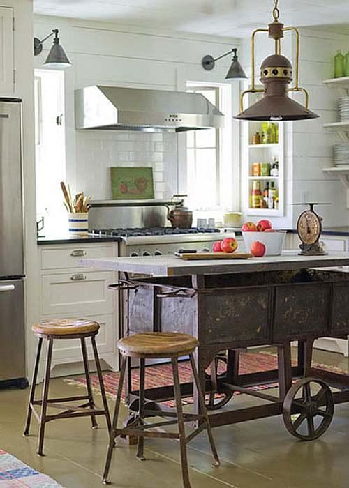 Una barra o isla de cocina de dise o original decoracion in for Diseno islas de cocina