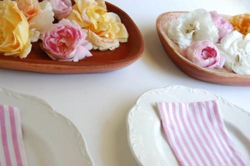 bowl con flores