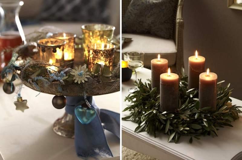 brillos y color para ambientes navideños