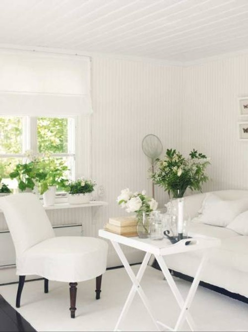 Caba a blanca de estilo escandinavo decoracion in - Decoracion estilo escandinavo ...