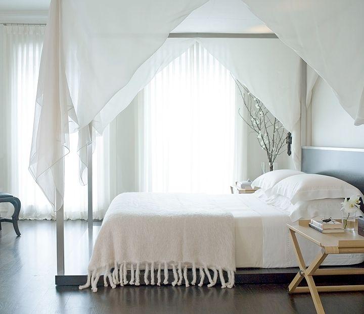 Ideas para vestir camas con dosel decoracion in - Cama con dosel ...