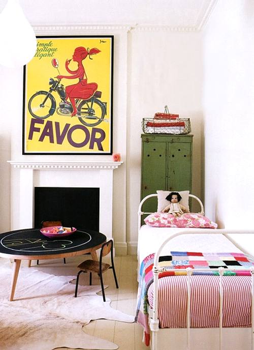 Camas de forja en dormitorios infantiles decoracion in - Camas dormitorios infantiles ...