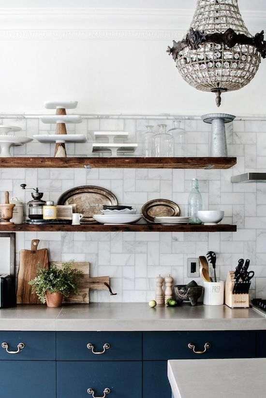 candelabros en cocinas