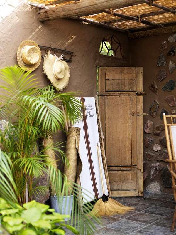 casa de campo vintage