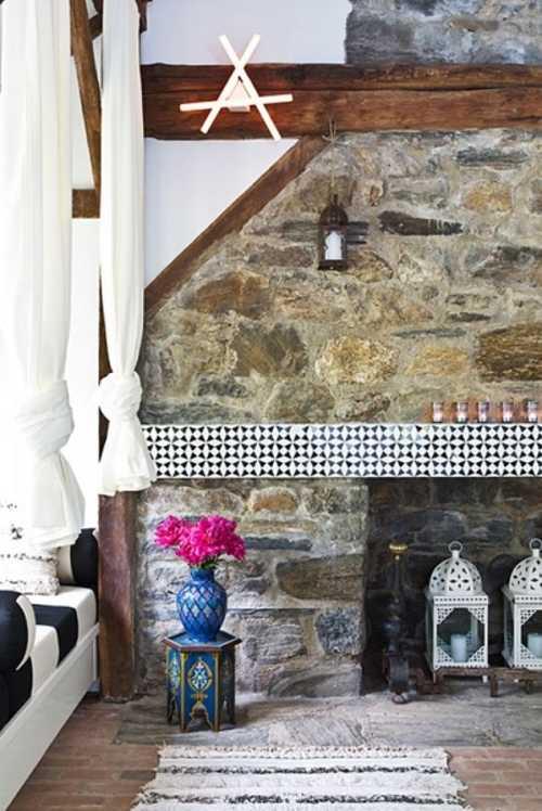 Una casa con estilo y calidez decoracion in for Decoracion con estilo