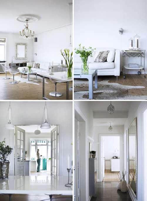 Blanco y encanto para una casa con estilo escandinavo - Casas estilo escandinavo ...