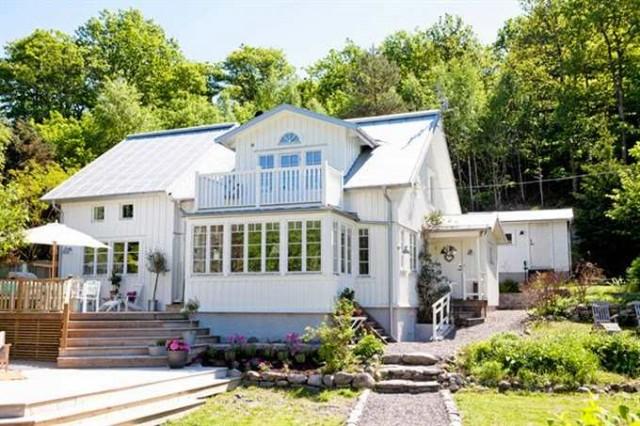casa de madera en Suecia
