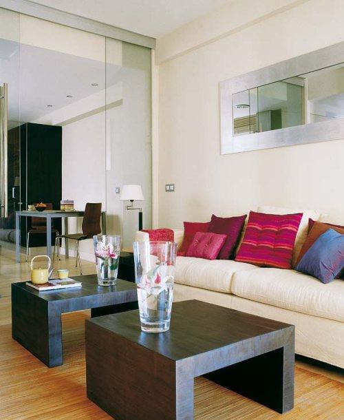 Casas y apartamentos peque os soluci n para separar for Decoracion de ambientes pequenos