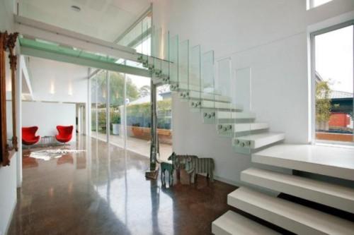 Casas contempor neas con grandes ventanas decoracion in for Decoracion de viviendas modernas