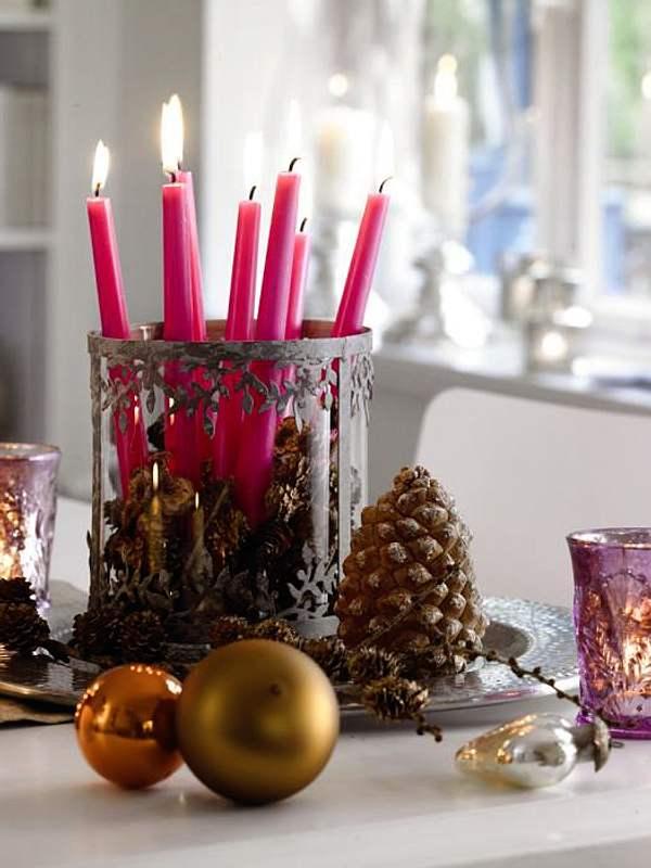 Ideas para decorar ambientes navide os decoracion in - Ideas de arreglos navidenos ...