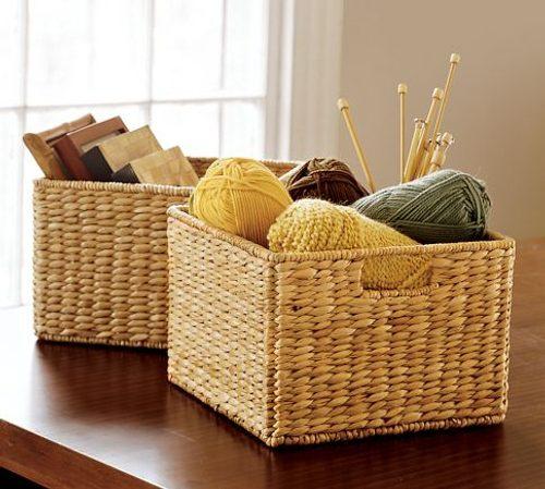 cestas para decorar y organizar