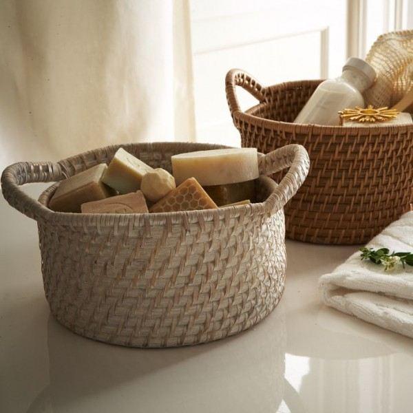 cestas de fibra para ordenar