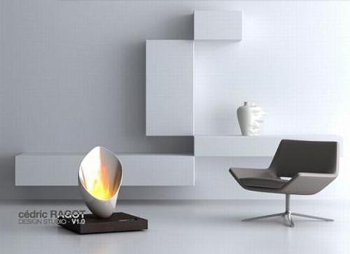 Chimenea Minimalista y Funcional Burn Out DecoracionIN