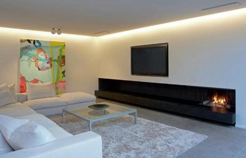 chimeneas de diseo para hogares modernos - Chimeneas Diseo