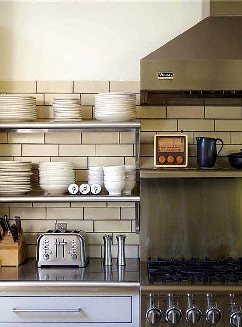 cocina actual y organizada