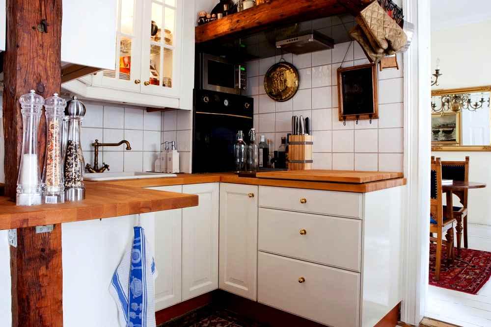 Detalles que suman calidez a la cocina decoracion in for Cocina practica