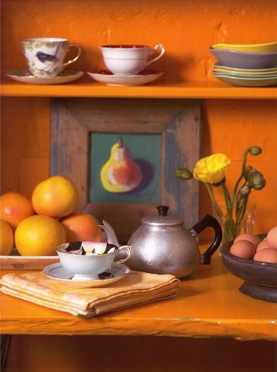 cocina: alegría en color naranja
