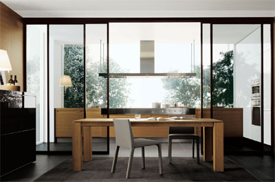 Ideas para separar la cocina del comedor decoracion in - Separar cocina de salon ...