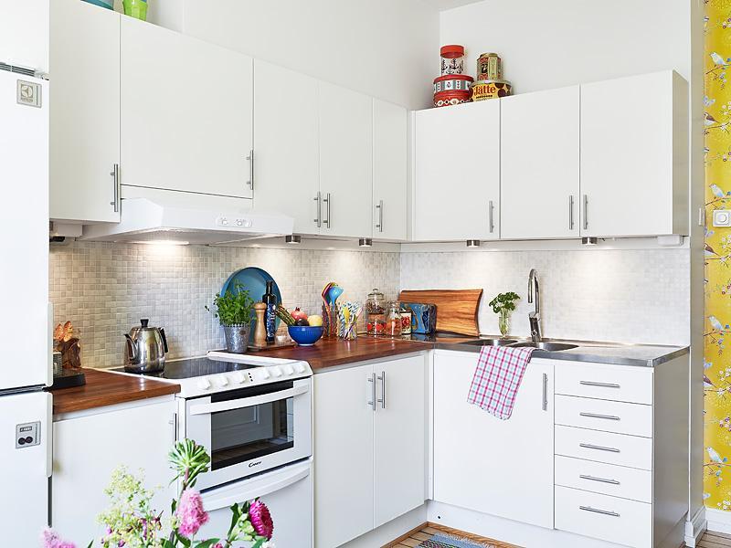 Una cocina de estilo n rdico decoracion in for Estilos de cocinas