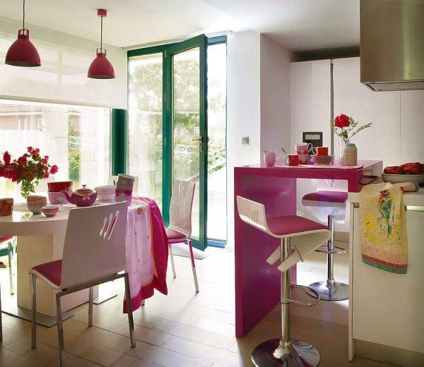 cocina y office integrados