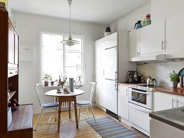 cocina y office pequeños