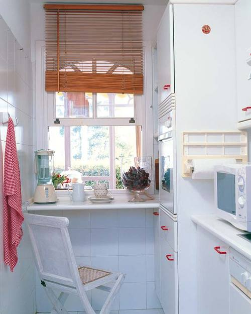 Cocinas peque as muebles de cocina decoracion in - Adornos para cocinas pequenas ...