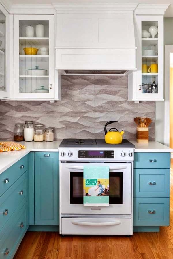 colores y feng shui en la cocina decoracion in