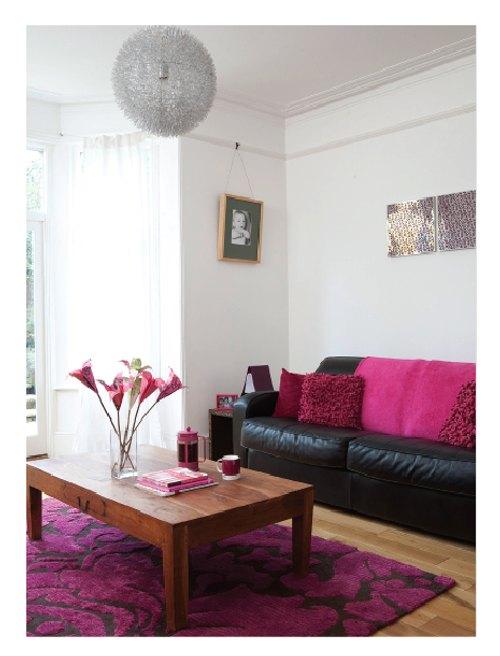 Color en el Salón, La Fuerza del Fucsia – Sala Y Salón
