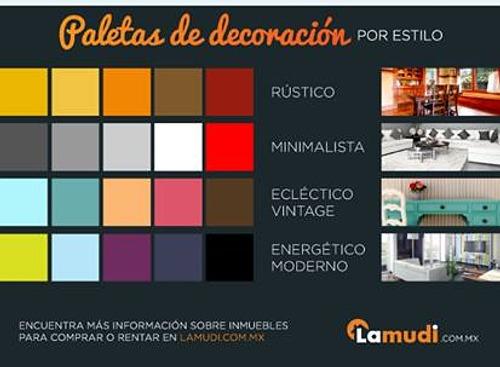 colores para decorar la casa