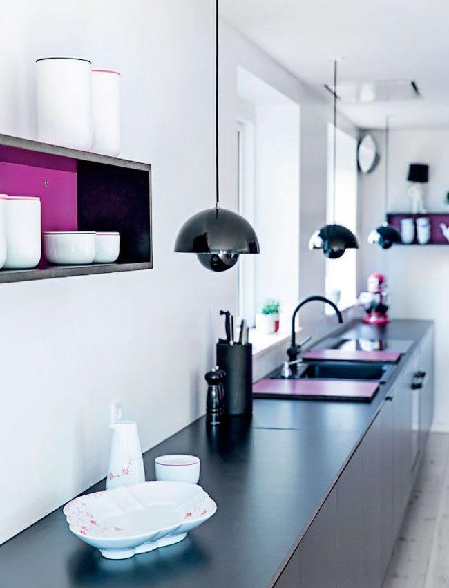 colores en los muebles de cocina